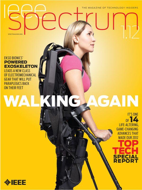 Ekso Bionics for IEEE Spectrum