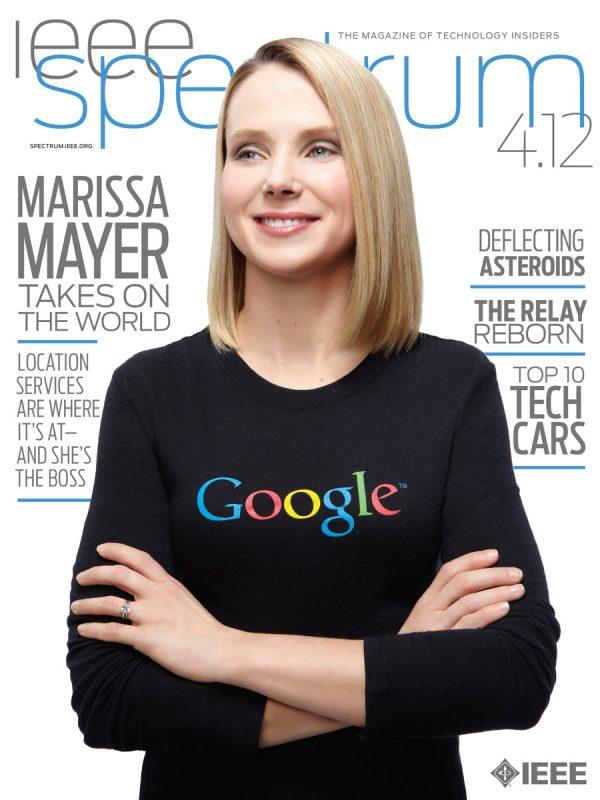 Marissa Mayer for IEEE Spectrum.
