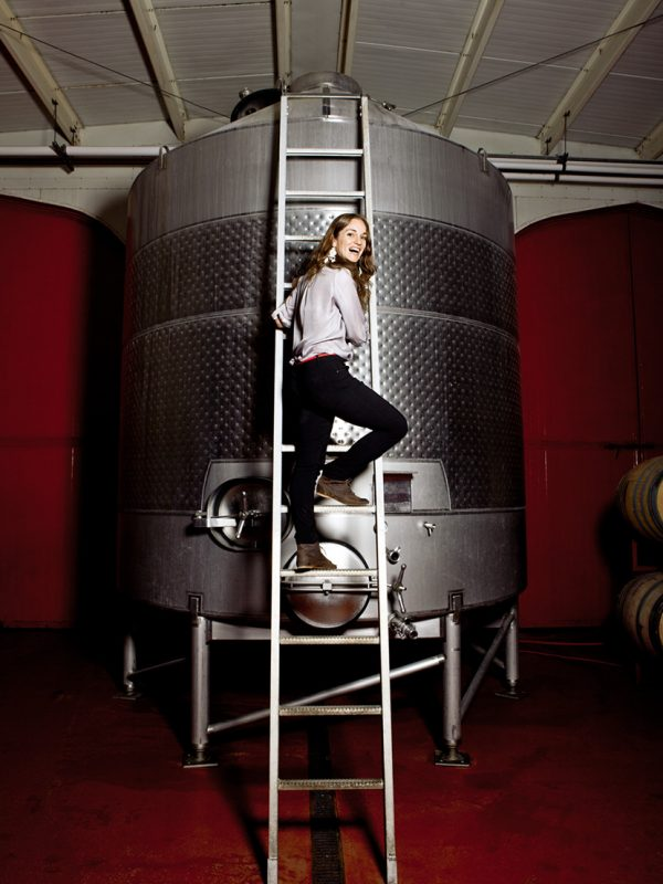 Cristina Turley of Turley Wines.