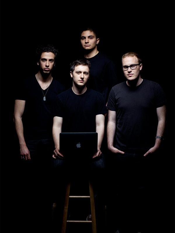 Diaspora co-founders,  Daniel Grippi, Rafael Sofaer, Maxwell Salzberg, Ilya Zhitomirsky.