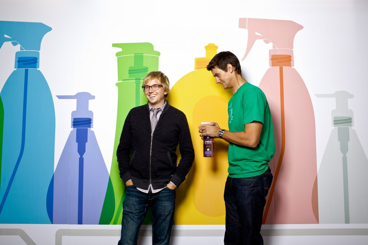 Method Co-Founders, Adam Lowry and Eric Ryan.