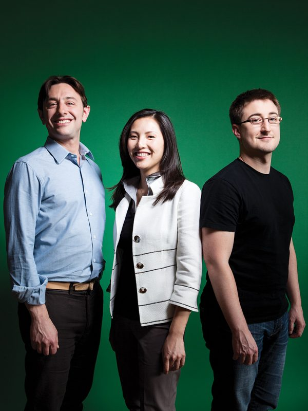 137 Ventures Alexander Jacobson, Kathy Chan, and Justin Fishner-Wolfson.