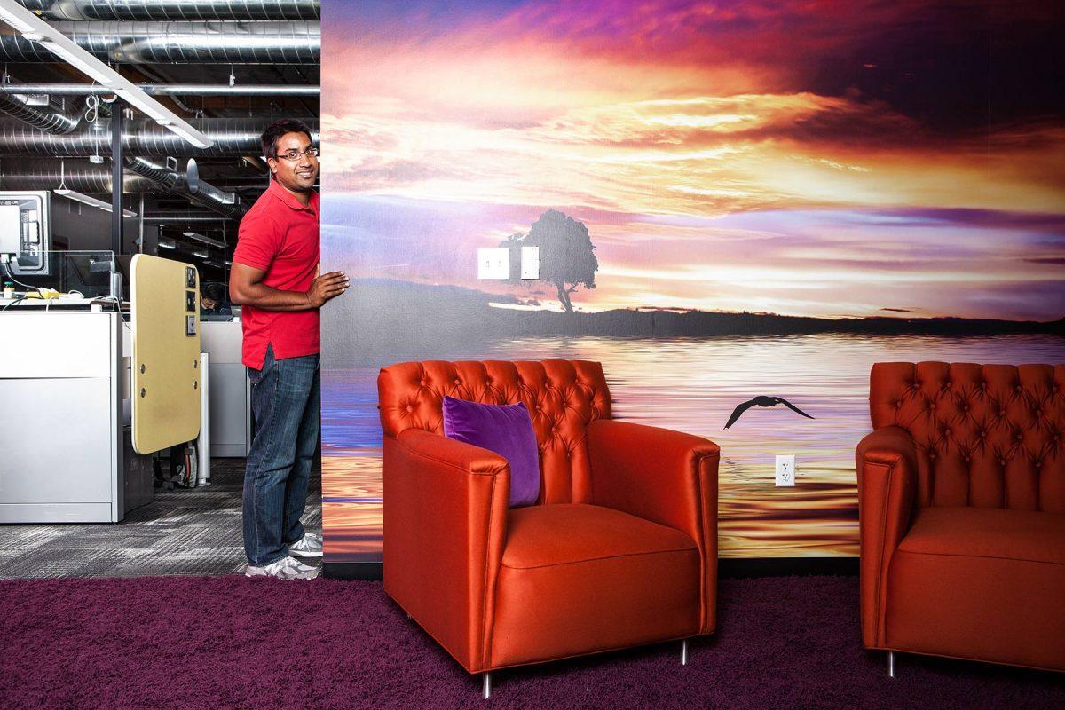 Google TV's Rishi Chandra.