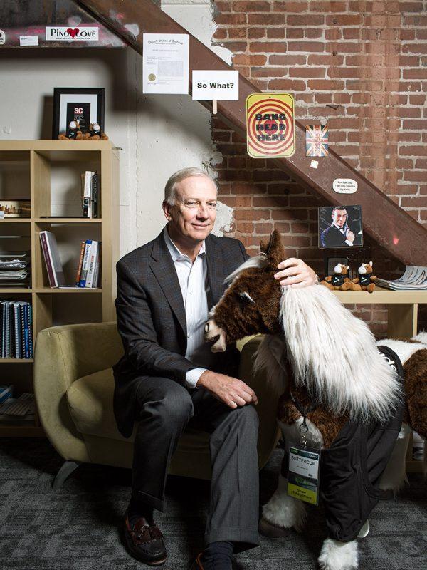 Splunk CEO, Godfrey Sullivan.