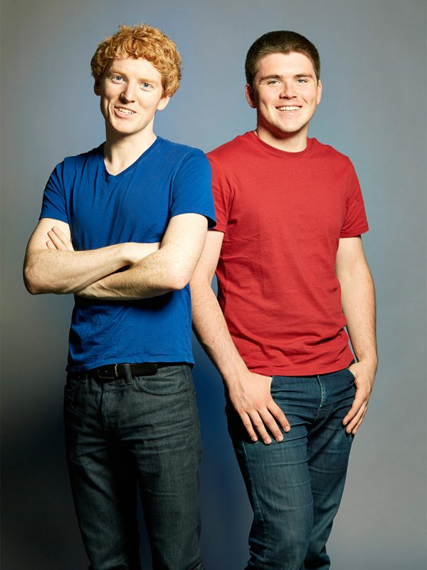 Stripe Co-founders, Patrick and John Collison.