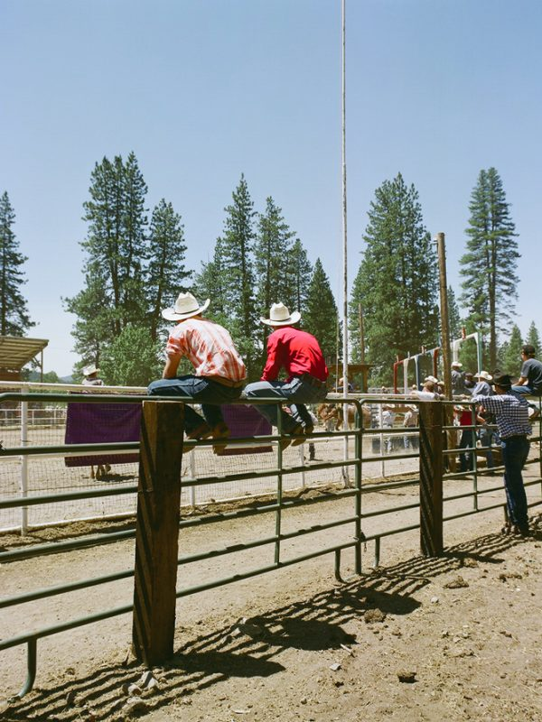 July 4th rodeo in Taylorsville, California.