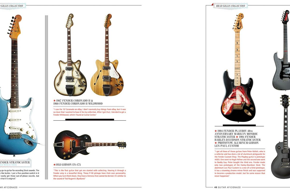 Brad Gillis for Guitar Aficionado