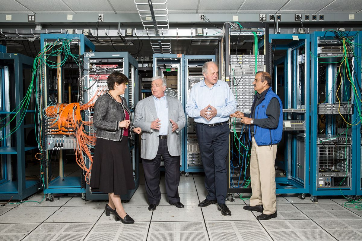 Cisco Executives for Fortune magazine.