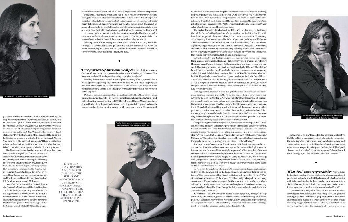 A Better Death, San Francisco Magazine