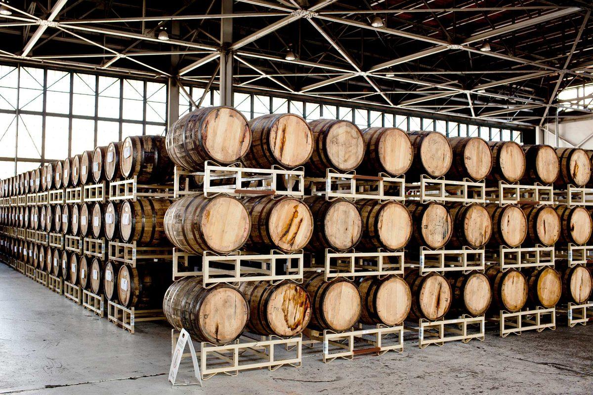 St. Georges Distillery in Alameda, Ca.