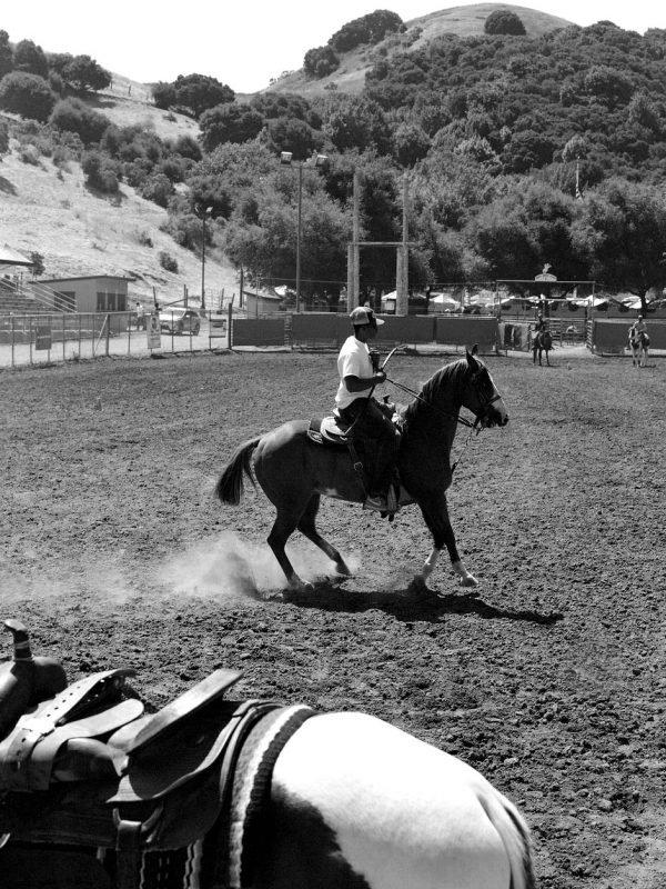 Bill Pickett Invitational Rodeo in Oakland, California. July 2017.
