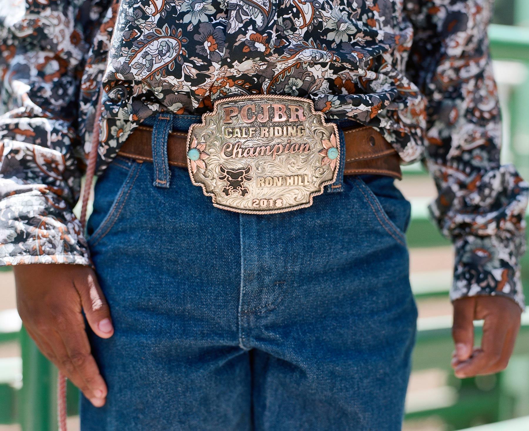 Portraits Of Bill Pickett Invitational Rodeo Contestants