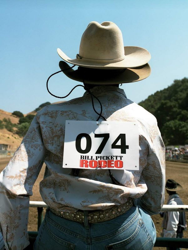 Contestant Denise Williams at The Bill Pickett Invitational Rodeo. Oakland, California. 2008
