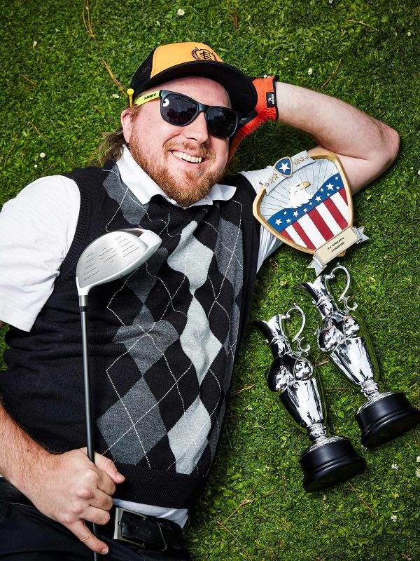 Straight Willie Dills of The Mediocre Golf Association.