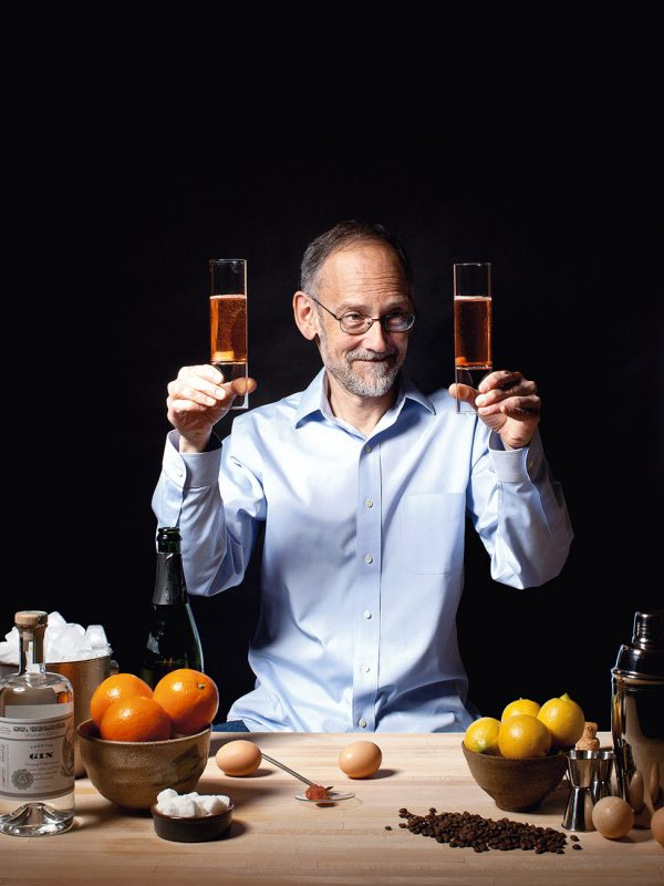 Harold McGee is an American author who writes about the chemistry, technique and history of food and cooking and has written two seminal books on kitchen science. His first book, On Food and Cooking: The Science and Lore of the Kitchen was initially published in 1984. Photographed for IMBIBE magazine.