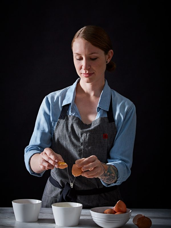 Rising Chef of the Year, Sara Hauman, of Octavia for San Francisco Magazine.