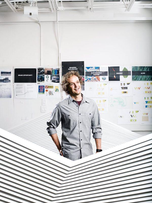 Designer Yves Behar for Outside magazine.