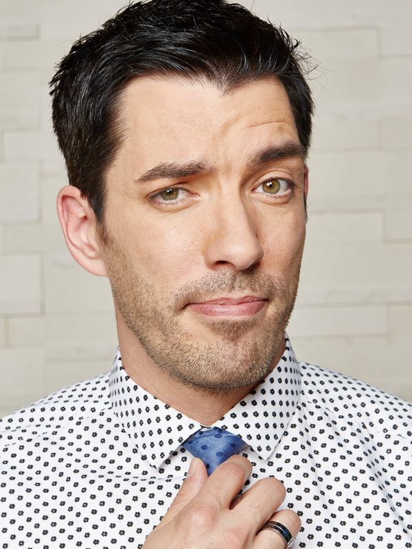 Drew Scott, of Property Brothers, for People magazine.