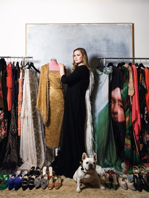 Tatiana Sorokko is a Russian-born American model, fashion journalist, and haute couture collector. Her private collection of historically important haute couture clothing were subjects of museum exhibitions in Russia and the U.S..