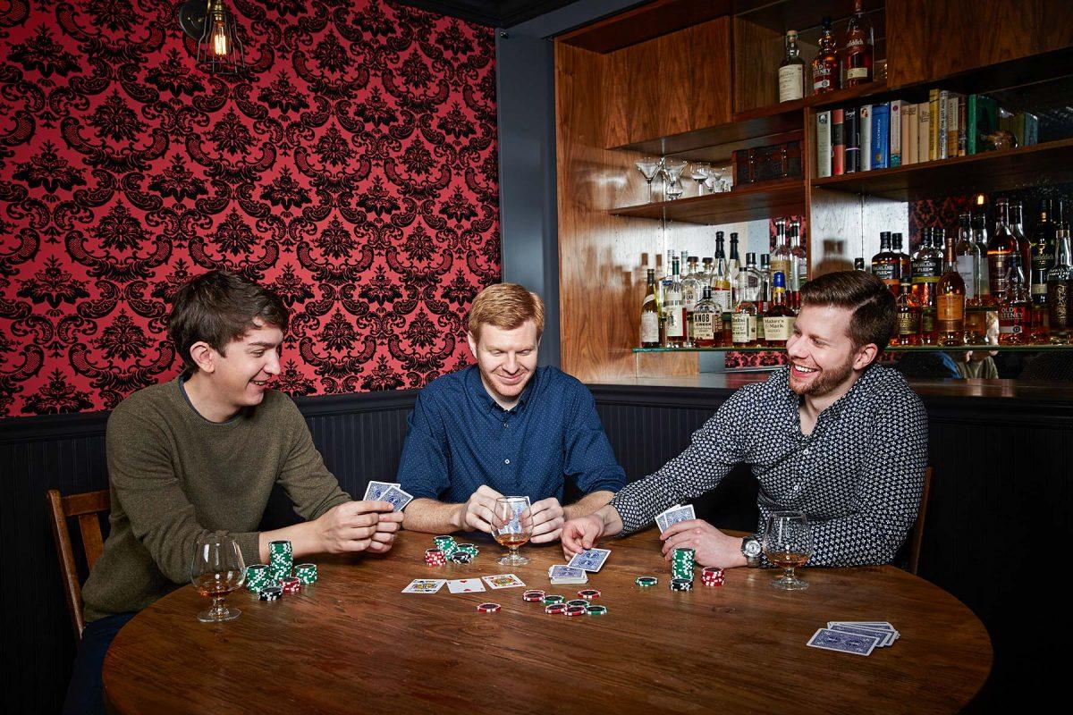 Weebly Co-Founders, David Rusenko, Dan Veltri, and Chris Fanini.