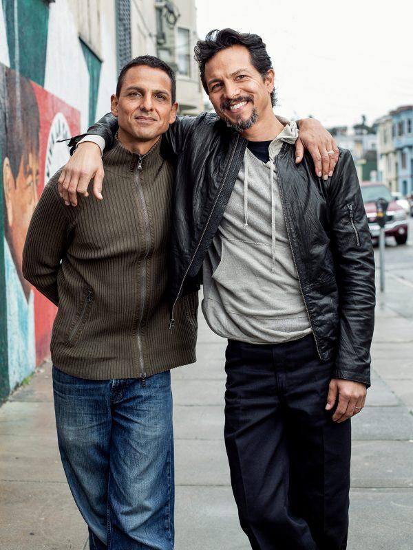 Benjamin and Peter Bratt photographed in San Franicsco.