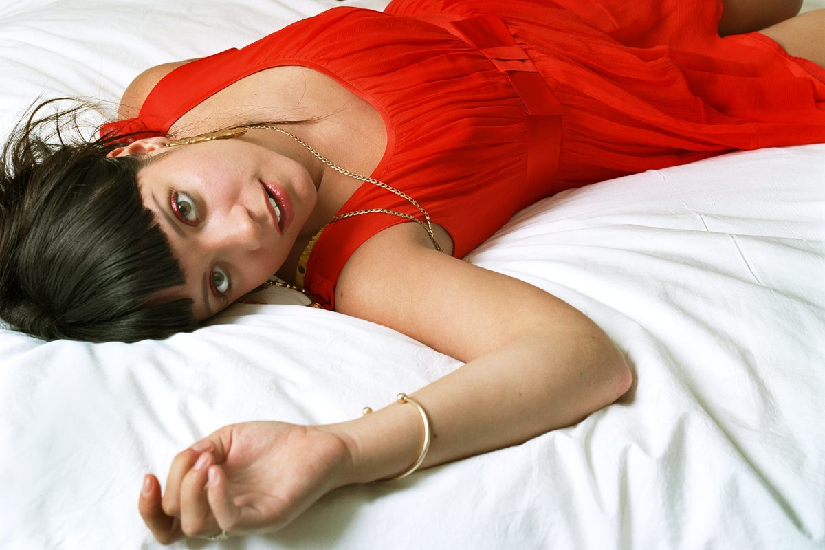 Singer and songwriter, Lily Allen.