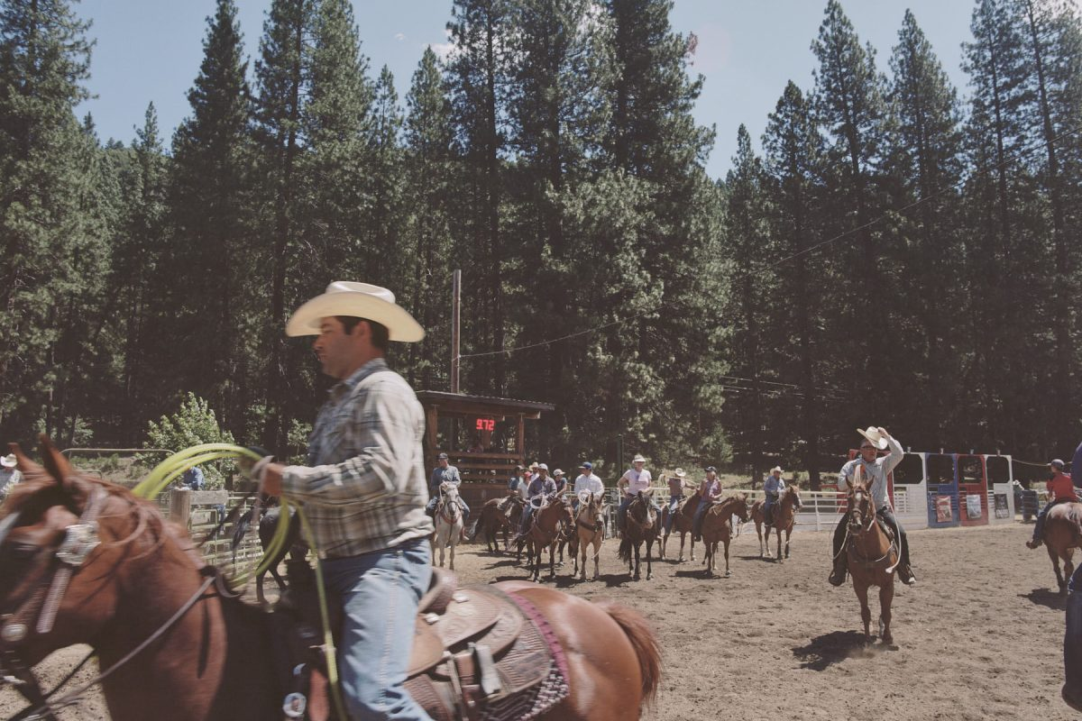 Silver Buckle Rodeo in Taylorsville, Caliofrnia. July 4th, 2018.