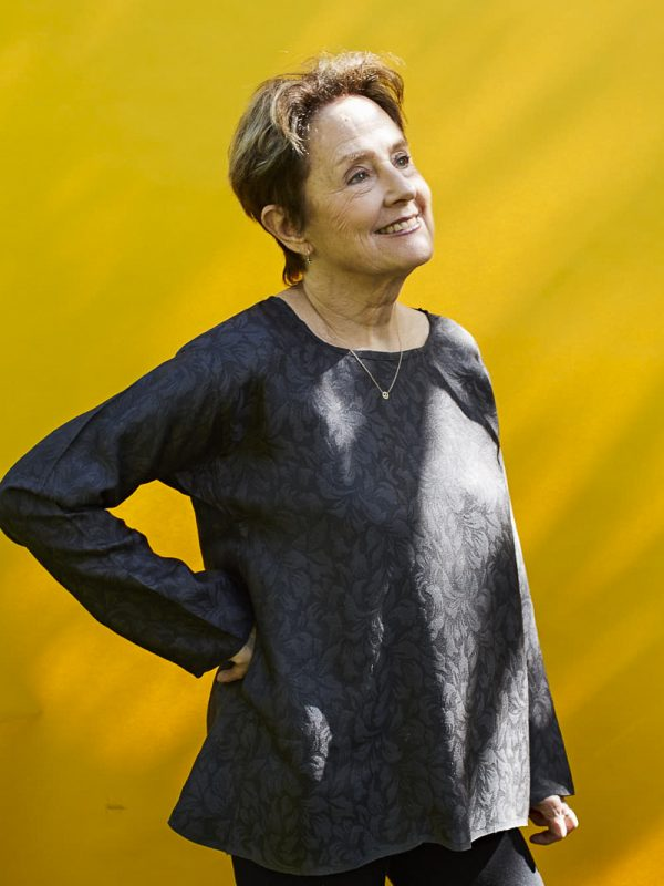 Alice Waters at home in Berkeley, California.