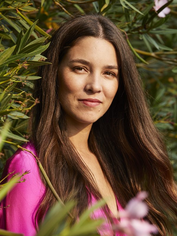 Maria Jose Palacio, CEO and Co-Founder at Progeny Coffee, photographed near her home in Palo Alto, California on August 31, 2020.
